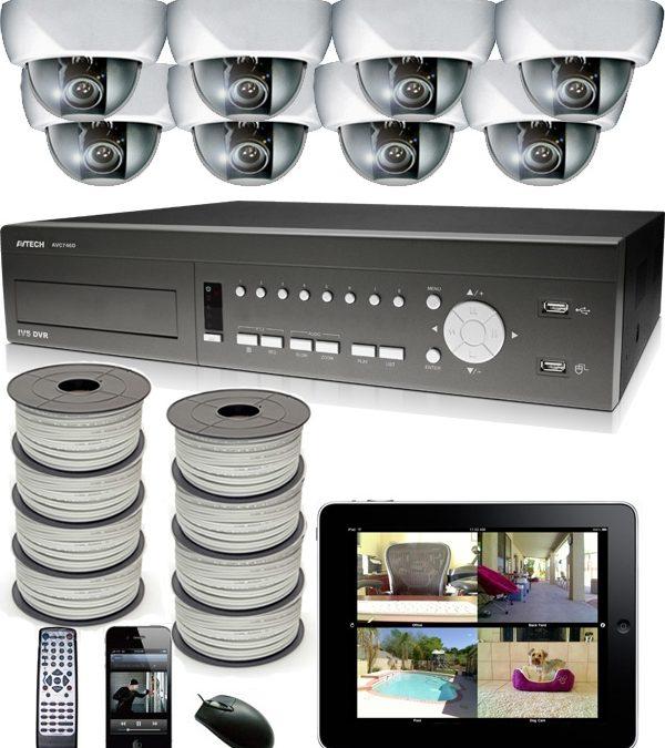 Skräddarsydda Kameraövervakningspaket